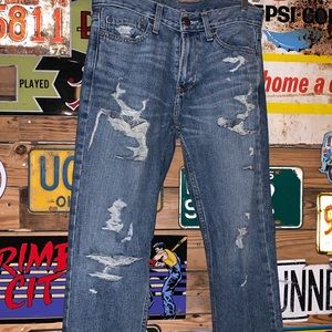 Hollister Slim Straight Distressed Jeans 29x30